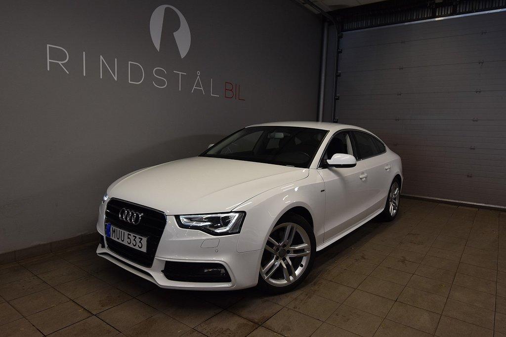 "Audi A5 SB 1.8 TFSI 177 HK AUT S-LINE 18"""