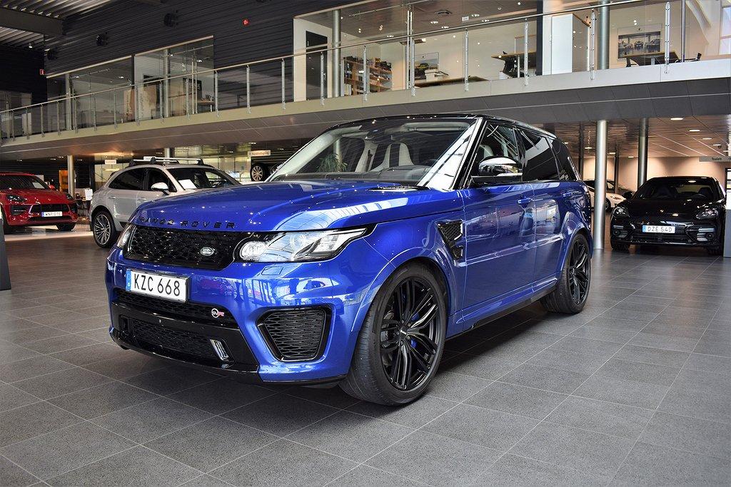 Land Rover Range Rover Sport SVR 550hk Kolfiber