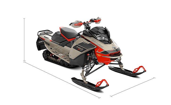 Ski-doo MXZ XRS 850 E-TEC ES