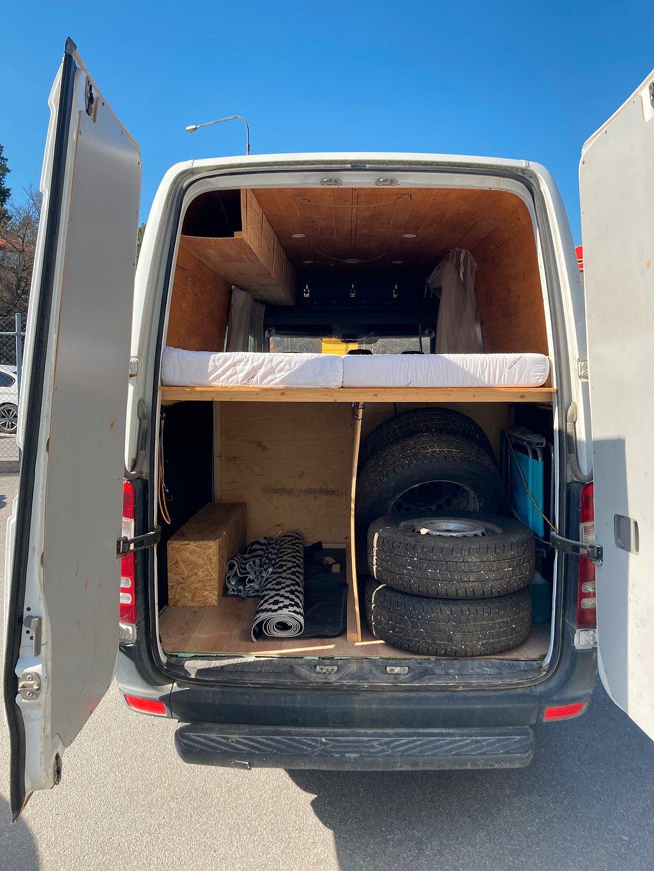 Mercedes-Benz Sprinter 315 CDI Camper Van Automat 150hk