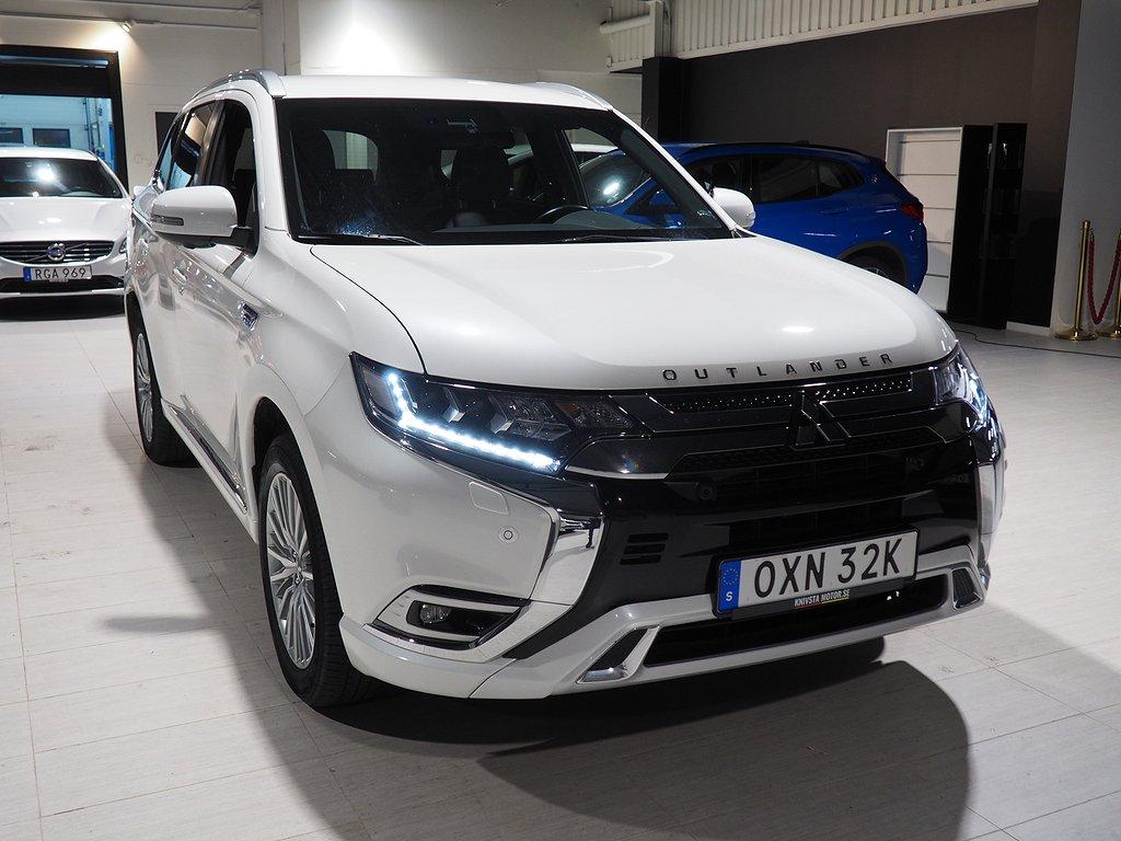 Mitsubishi Outlander P-HEV 2.4 Hybrid 4WD CVT 230hk Dragkrok 2019