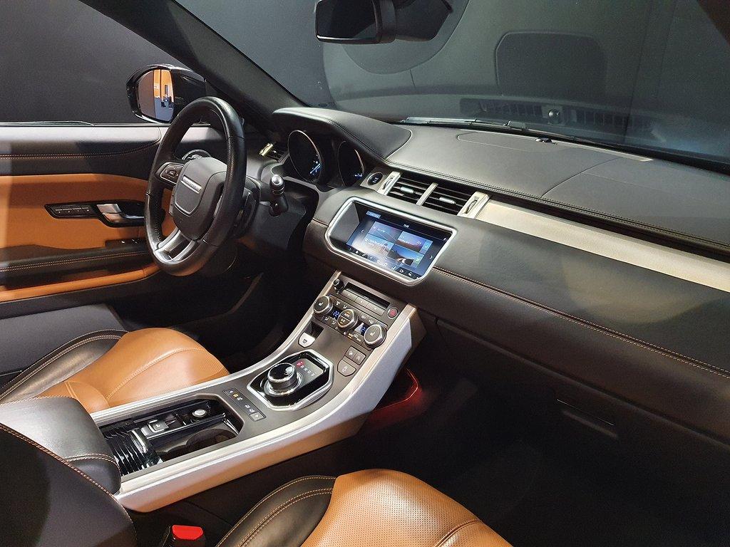 Land Rover Range Rover Evoque Cabriolet TD4 Dynamic HSE 180hk
