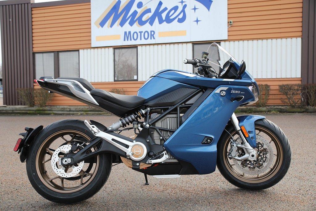 Zero SR/S Standard – 110 hk elmotorcykel med traction control
