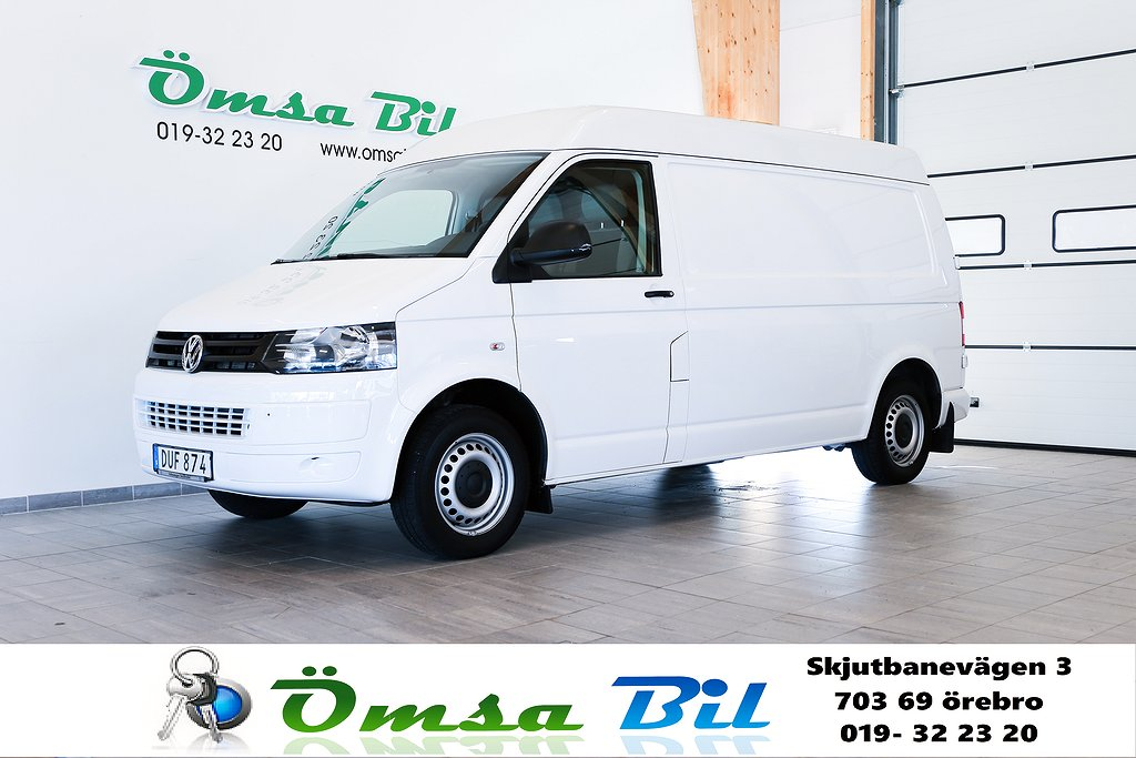 Volkswagen Transporter 2.0 TDI DSG T5 340 L2H2 3-Sits Ramp 140hk