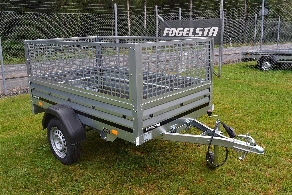 Fogelsta Serie-1000 1205 SU Nätgrind och Stödhjul