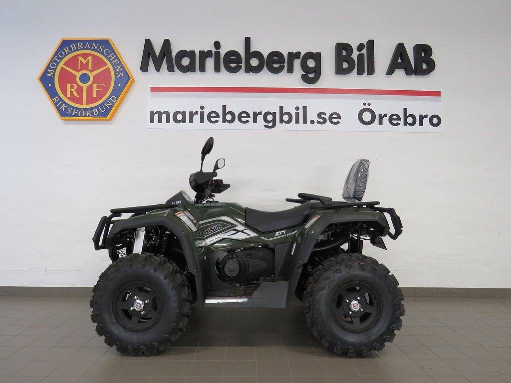 Hisun Forge 550 4WD ATV Drag/Vinsch