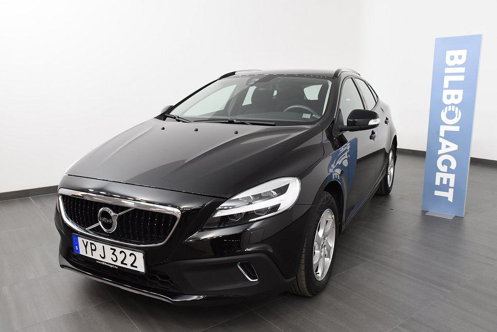 Volvo V40 Cross Country T3 Edition / VOC appstyrd parkeringsvärmare / Vinterhjul