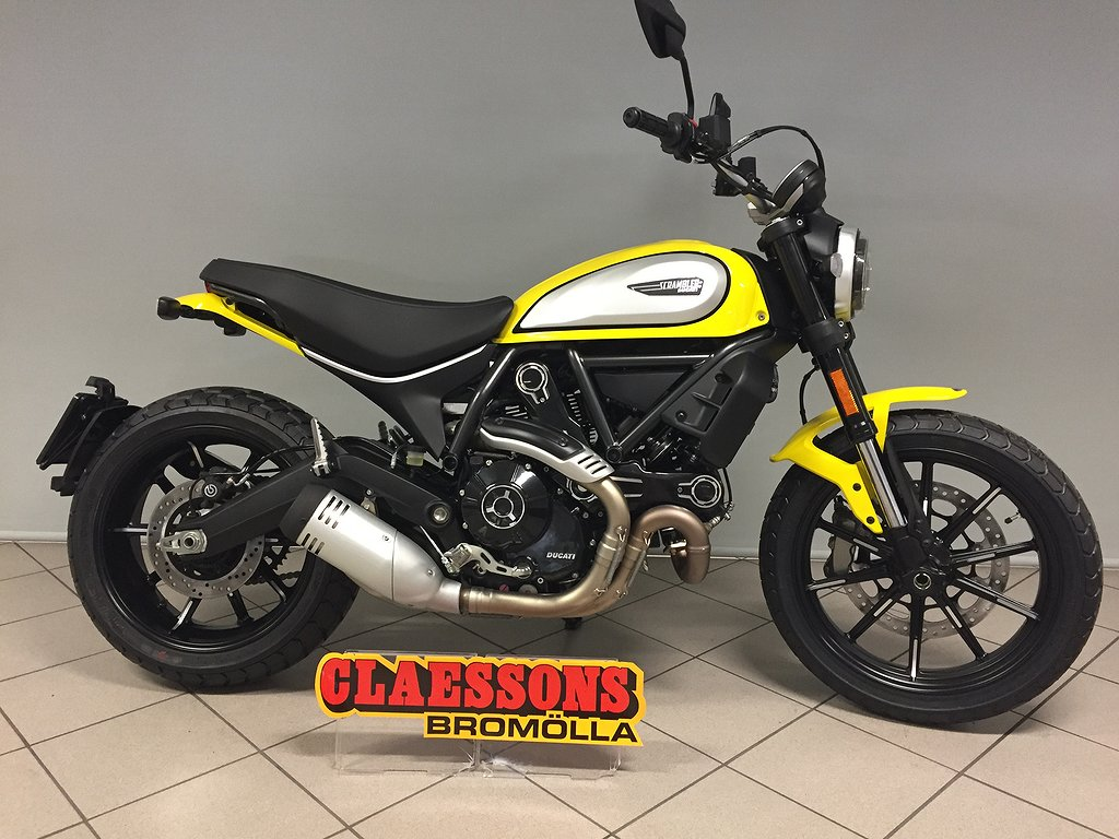 Ducati Scrambler Icon gul