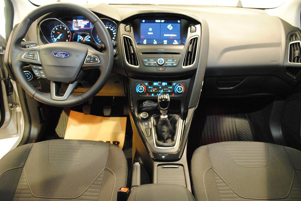 Ford Focus 1.0T EcoBoost 125hk Kombi