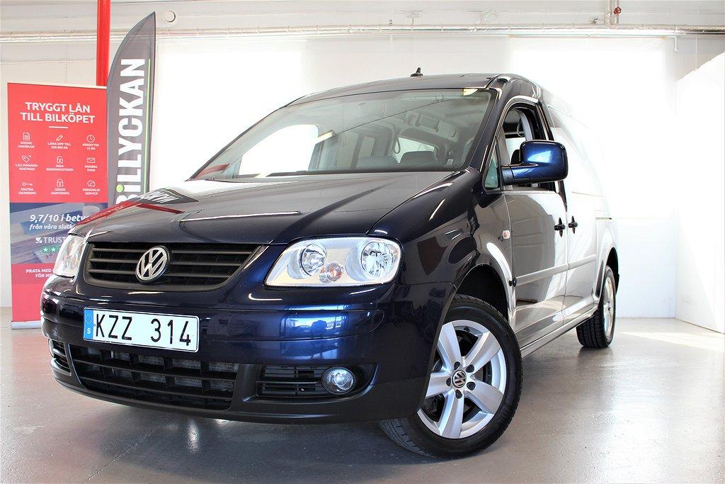 Volkswagen Caddy 1.9d 7sits Kamrembytt Maxi 105hk
