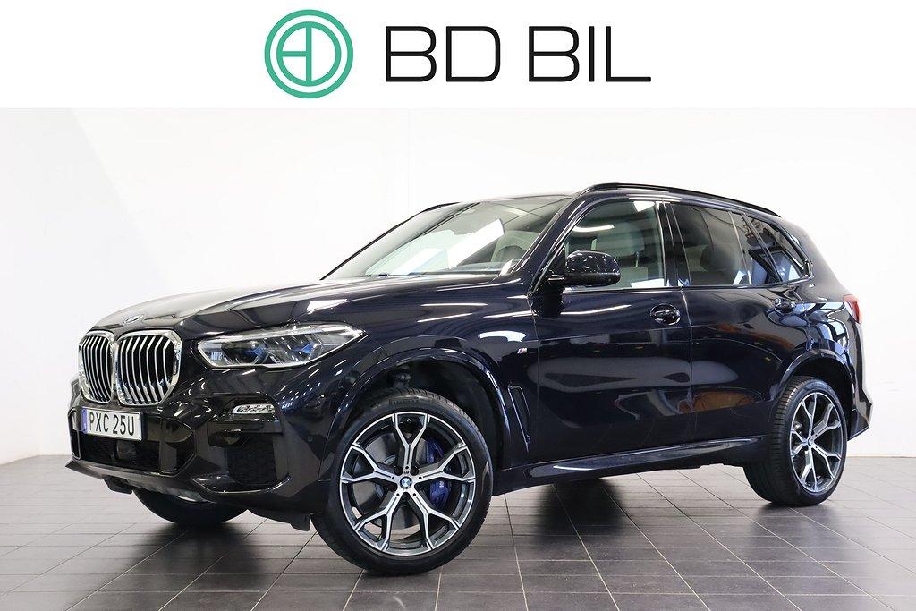 BMW X5 xDrive30d M-SPORT I-DRAG EU6 VÄLUTRUSTAD NYSKICK