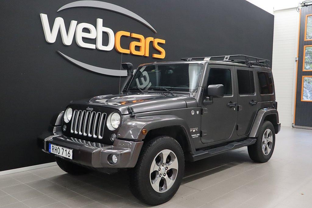 Jeep Wrangler Unlimited 2.8 4WD Sahara Leasbar Eu6