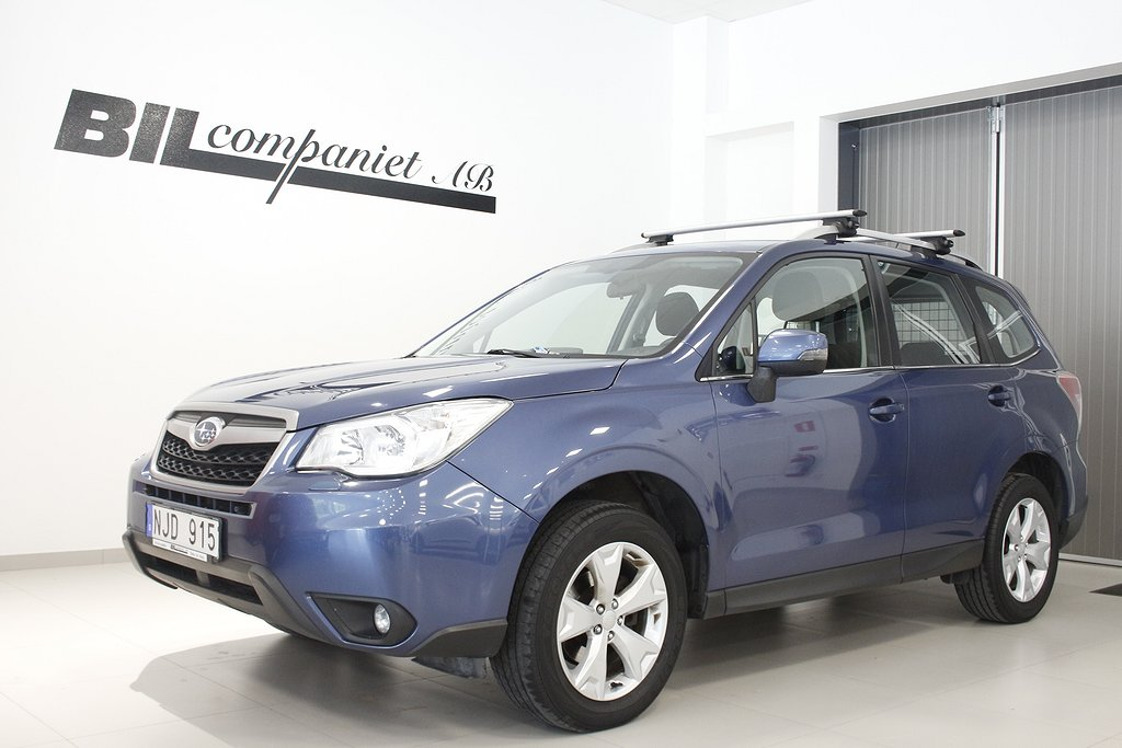 Subaru Forester 2.0 4WD Lineartronic 150hk