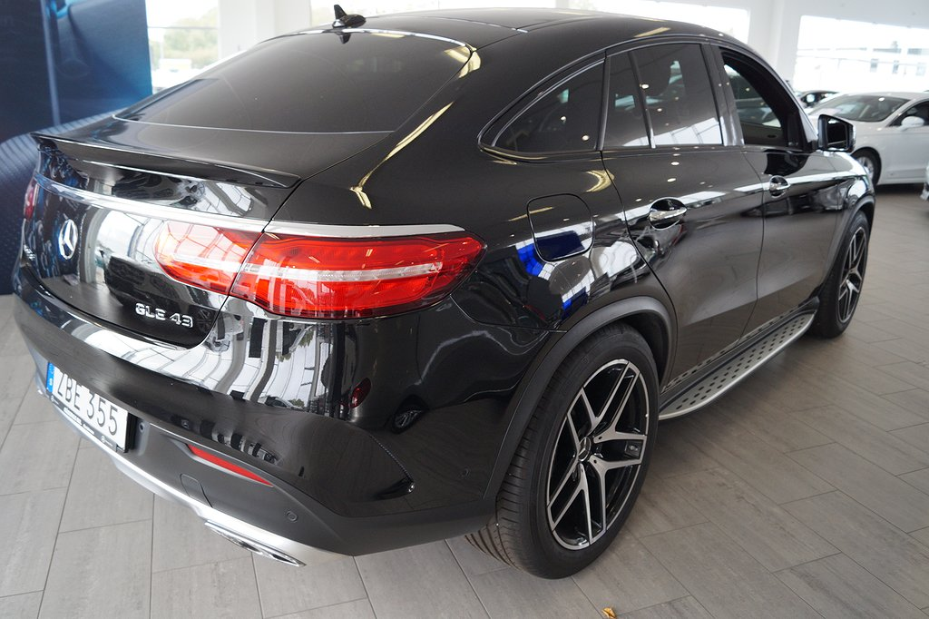 Mercedes-Benz GLE 43 AMG 4-MATIC Coupé / DEMO / (2648:- i skatt)
