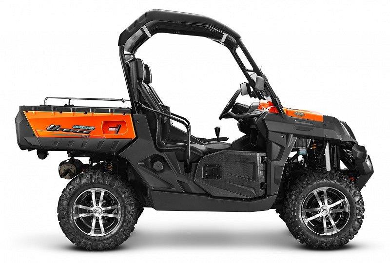 CF Moto U Force 800 EFI EPS, Traktor B- Plog på köpet!
