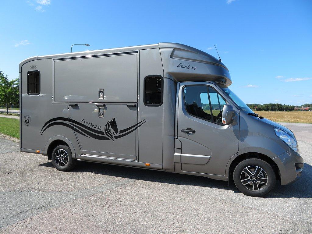 Opel Paragan Hästlastbil Excelsion 5 XL Stuterimodell