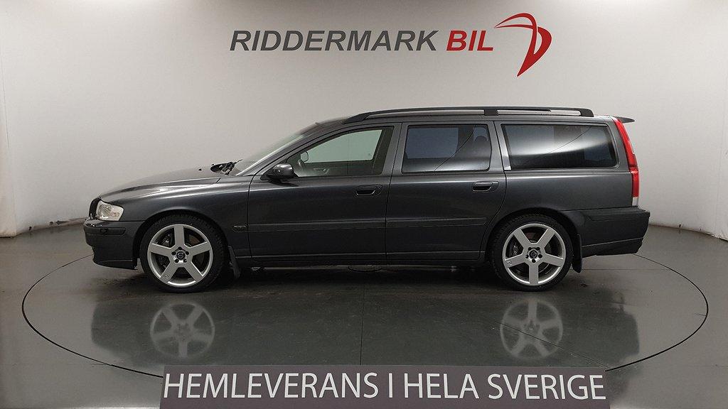 Volvo V70 R Skinn R-Line Nyservad 300hk