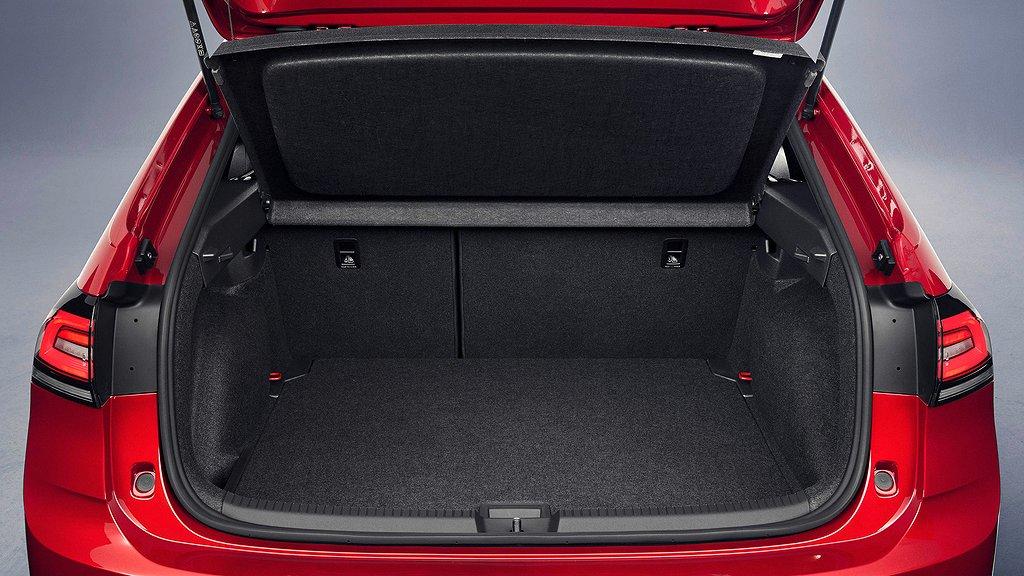 Bagageutrymmet på Volkswagen Taigo