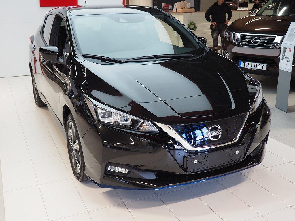 Nissan Leaf Tekna 40 kWh Företagshyra erbjudande 12 månader 2020