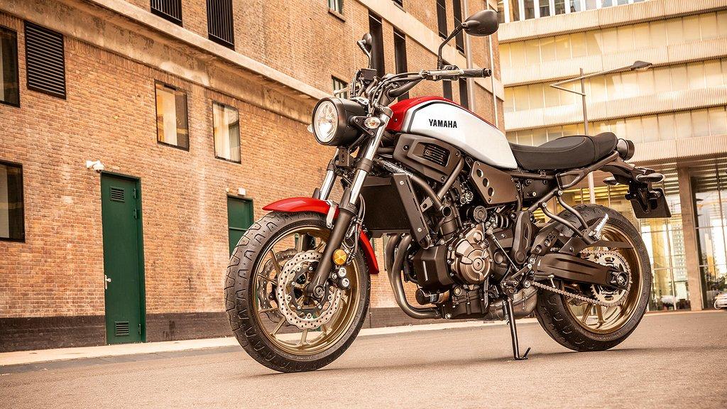 Yamaha XSR700 5 års non-stop garanti
