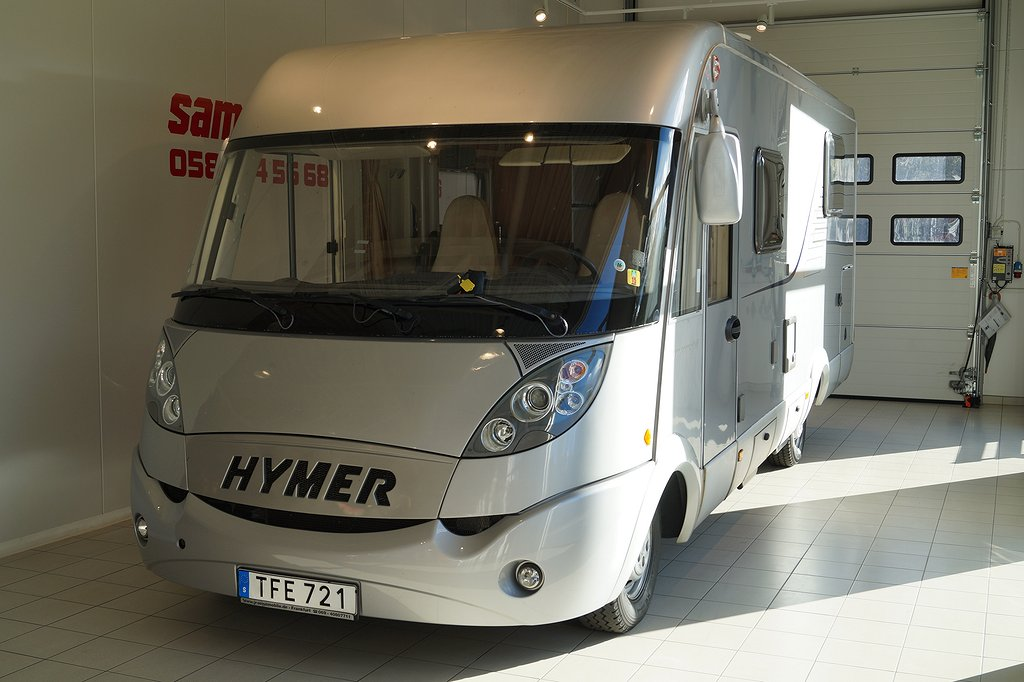 Fiat HYMER B 698 CL helintegrerad