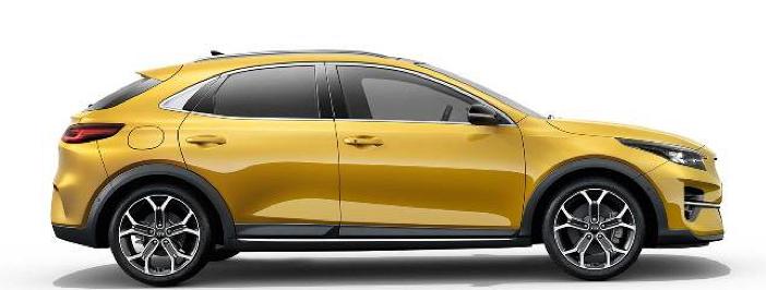 Modellbild av en Kia XCeed