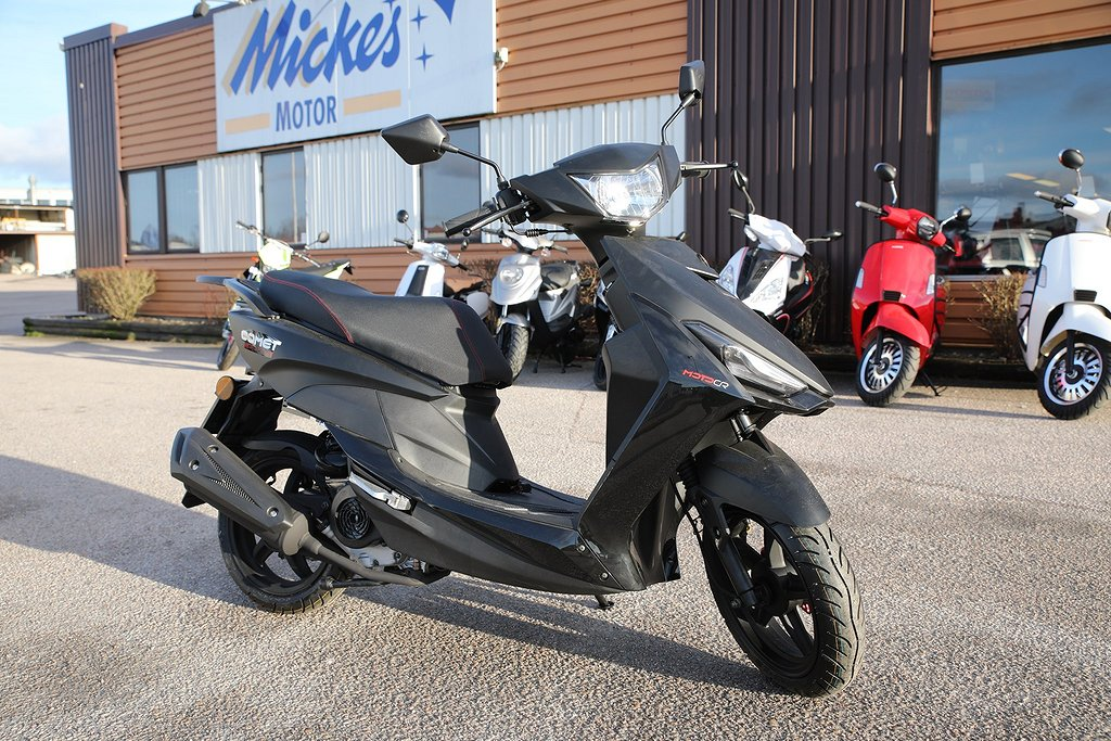 Motocr Comet – den multifunktionella mopeden