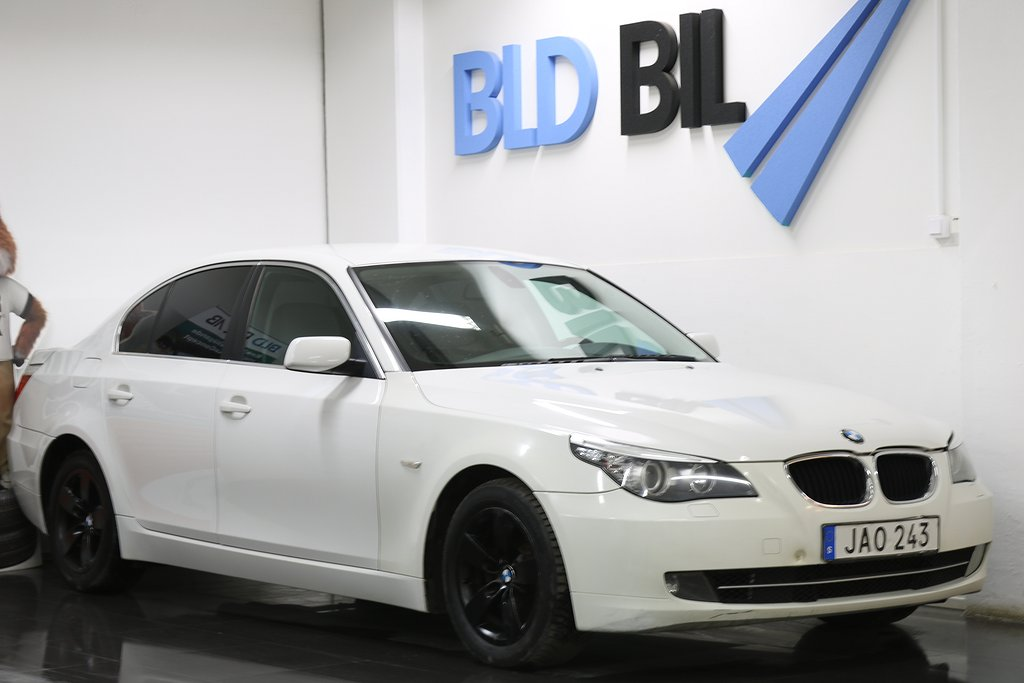 BMW 520 2.0i AUTO NYSERV AUX NYBES 170HK