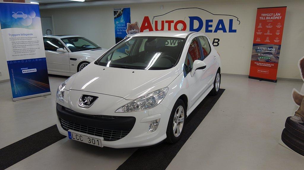 Peugeot 308 1.6 HDi Automat FAP EGS 111hk
