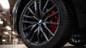 BMW X5 och X6 med Black Vermilion. Foto: BMW