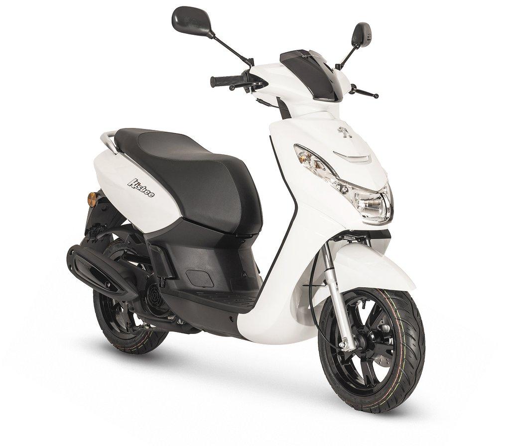 Peugeot Motocycles Kisbee E5 Vit I butik
