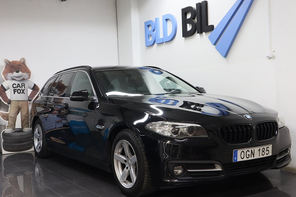 BMW 520 d Touring AUTO PDC D-VÄRMARE 6 190HK