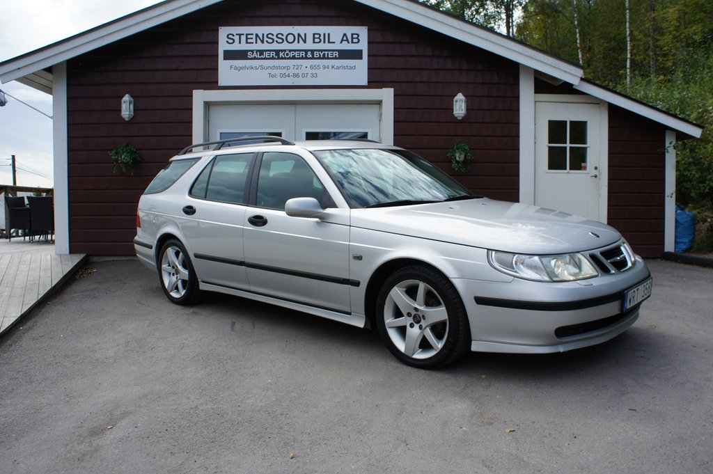 Saab 9-5 2,0T Nybes Sport Combi Business.
