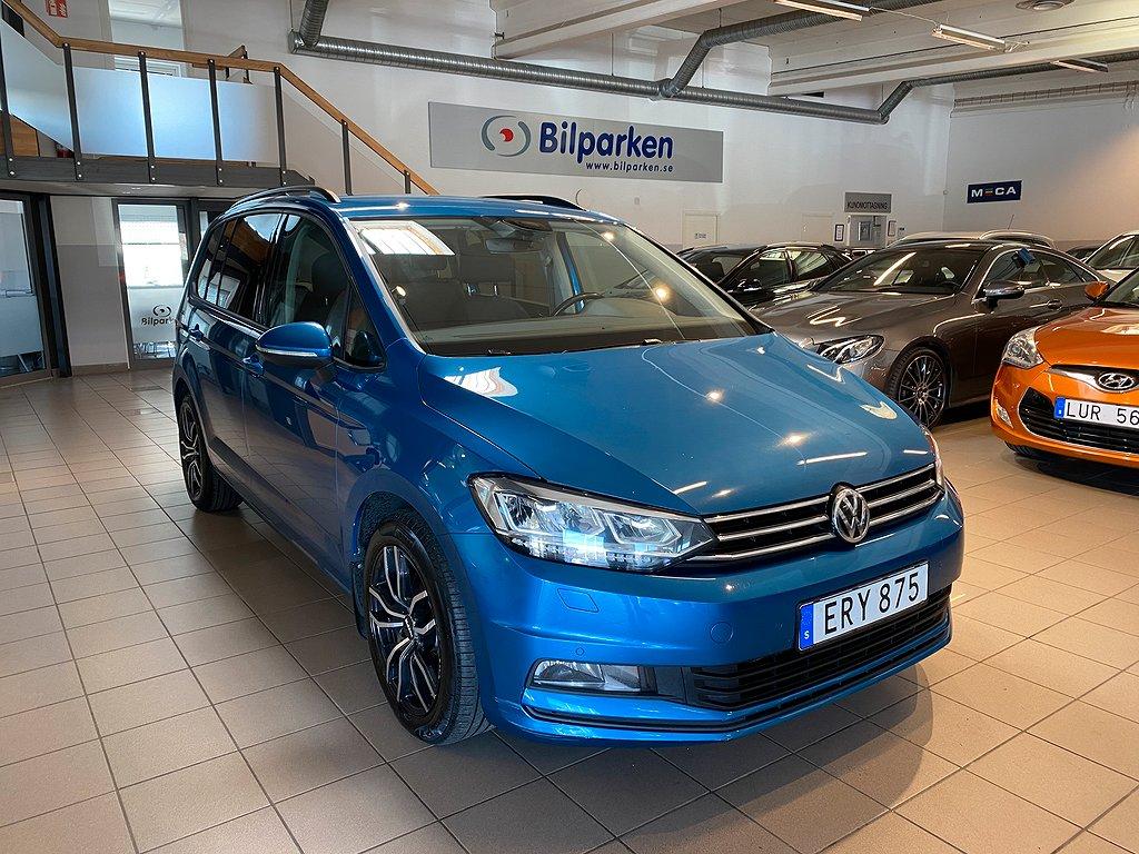 Volkswagen Touran 2.0 TDI DSG, Plus Euro 6 7-sits 150hk