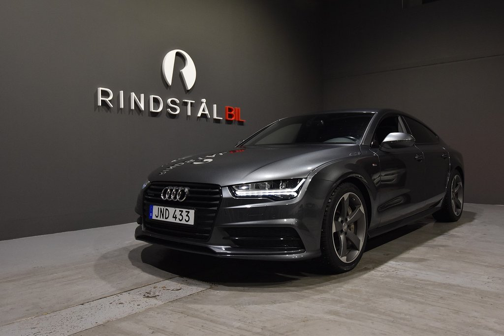 Audi A7 3.0 TDI 320 HK Q S-LINE D-VÄRM NAV SE UTR