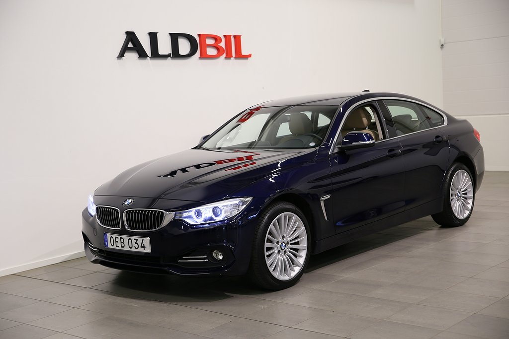 BMW 430 i 252hk xDrive Gran Coupe Luxury Line / 1.99% Ränta
