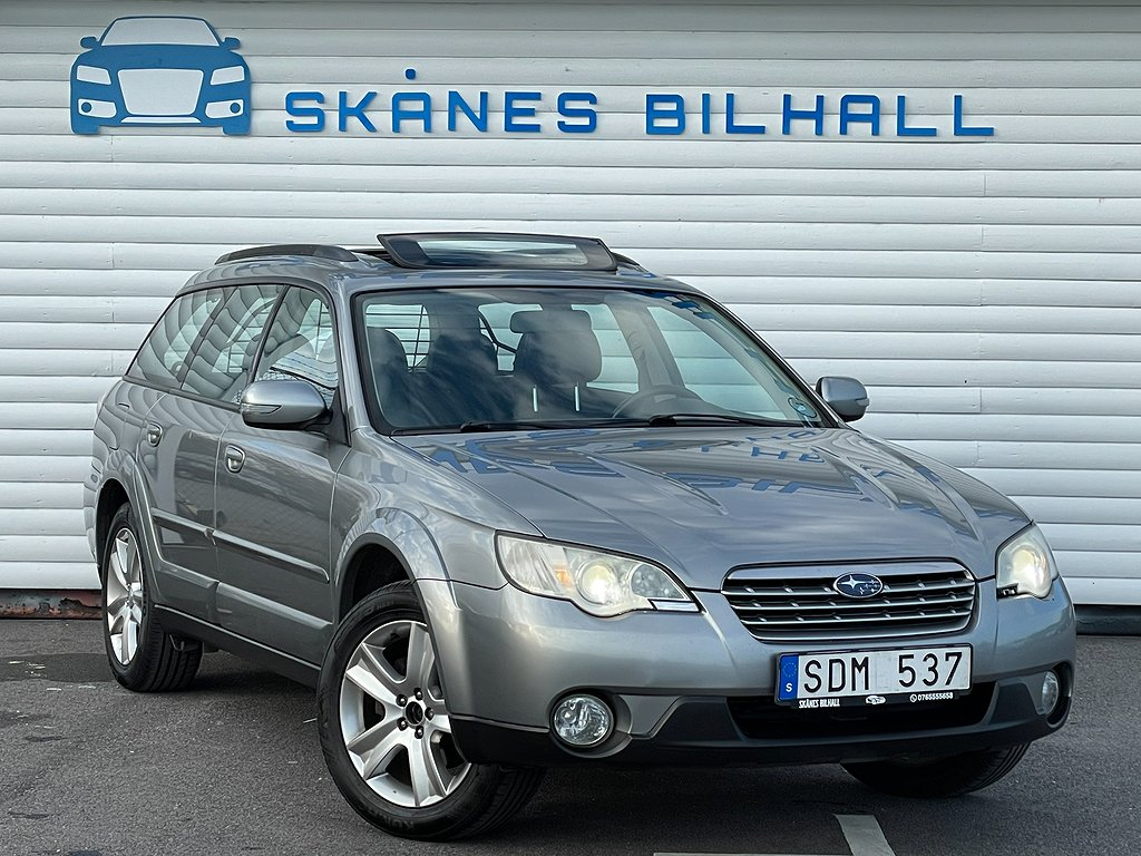 Subaru Outback 2.5 4WD 167hk special edition Panorama drag