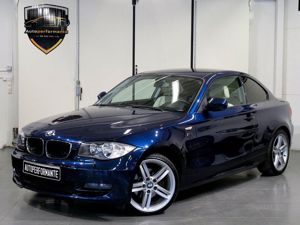BMW 120 d COUPE AUTOMAT M FÄLGAR SENSORER 177hk