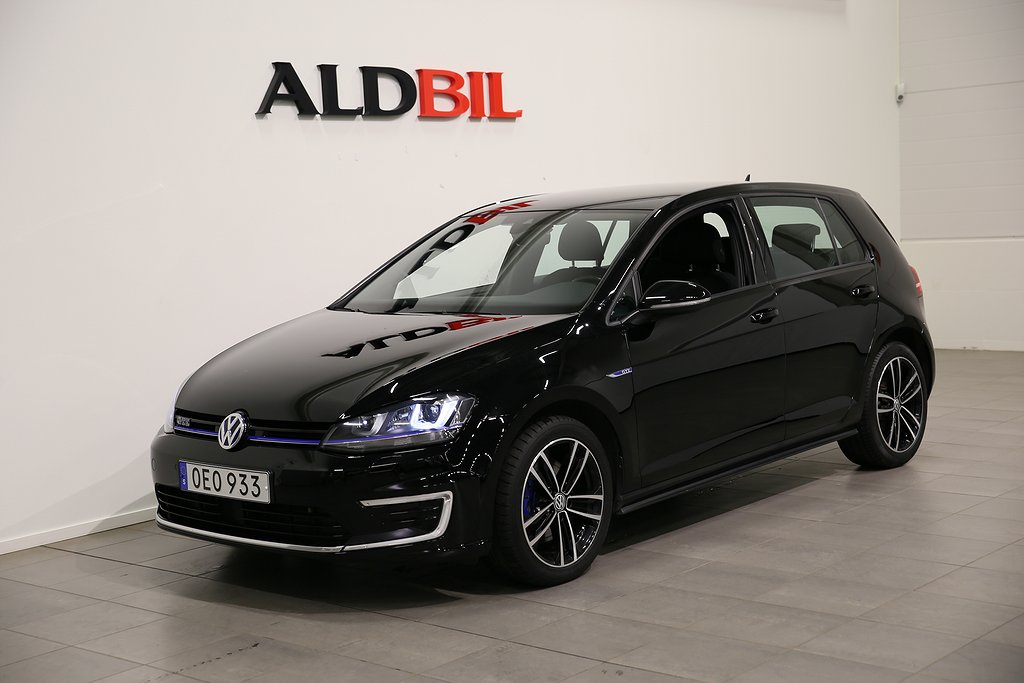 Volkswagen Golf GTE 204hk Plug-In-Hybrid DSG / 1,99% Ränta