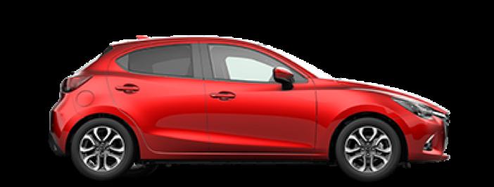 Modellbild av en Mazda 2