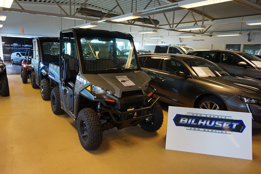 Polaris Ranger Mid Size EV 100% ELDRIVEN Demo