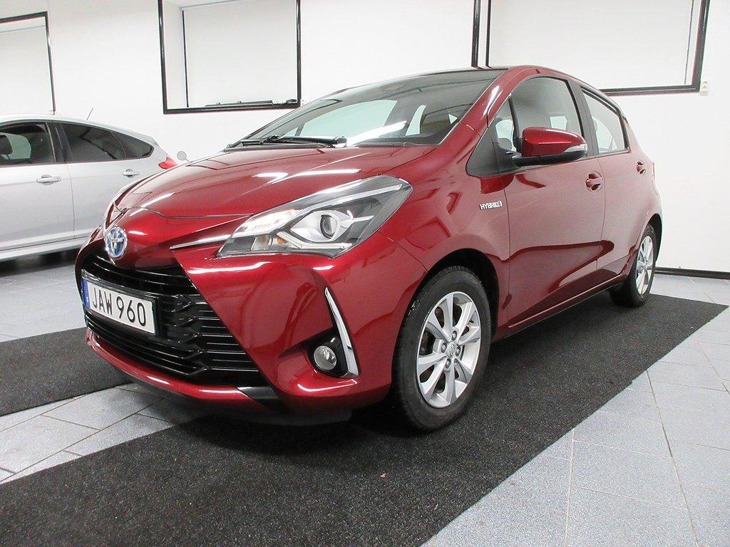 Toyota Yaris Hybrid 1.5 VVT-i CVT Euro 6 101 hk Nyservad
