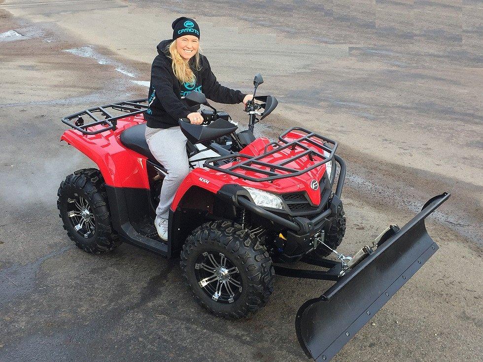 CF Moto 520 EPS Traktor