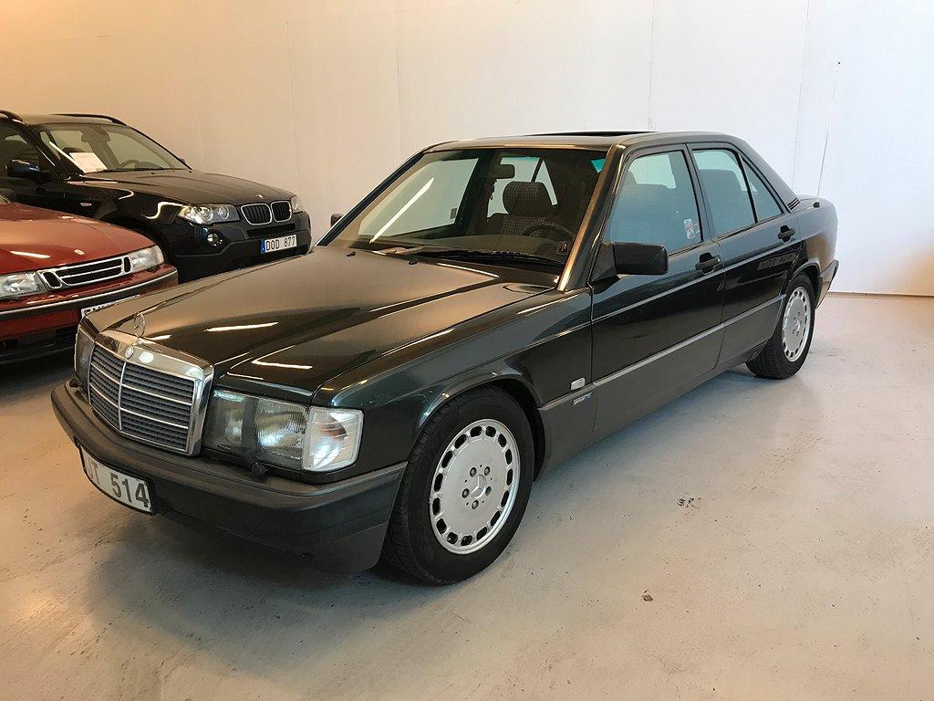 Mercedes-Benz 190 E 2.0 4G-Tronic Sportline Taklucka