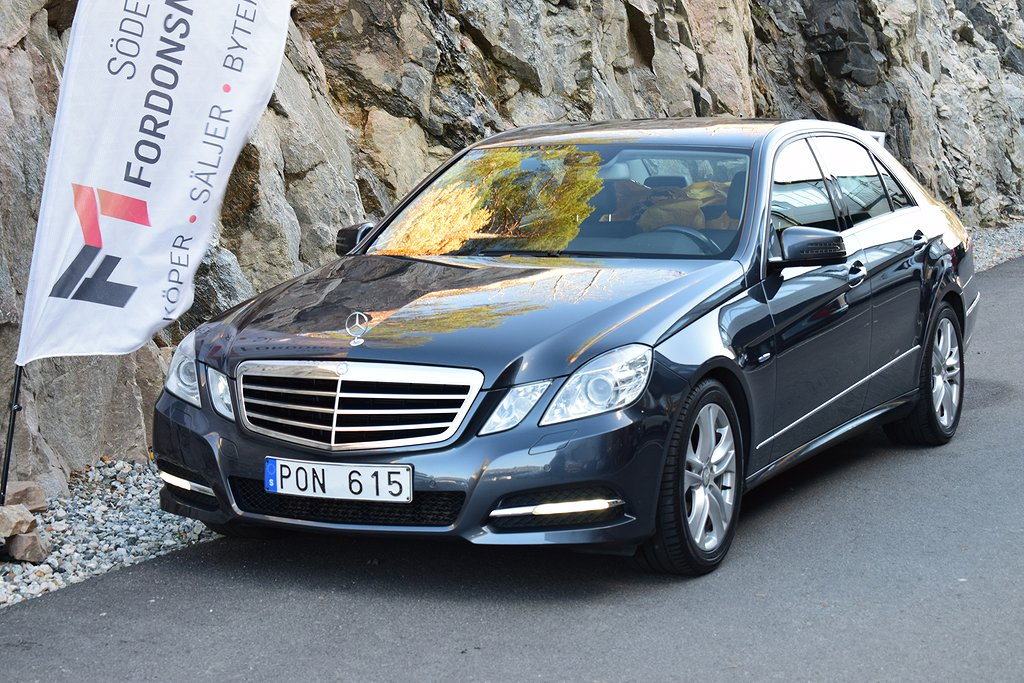 Mercedes-Benz E 220 CDI BlueEFFICIENCY 7G-Tronic Plus 170hk