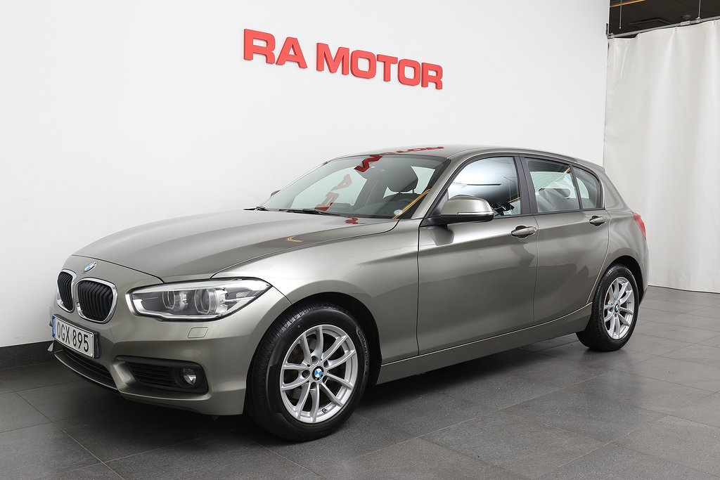 BMW 118 d 150HK Advantage Aut Drag/Sv-Såld