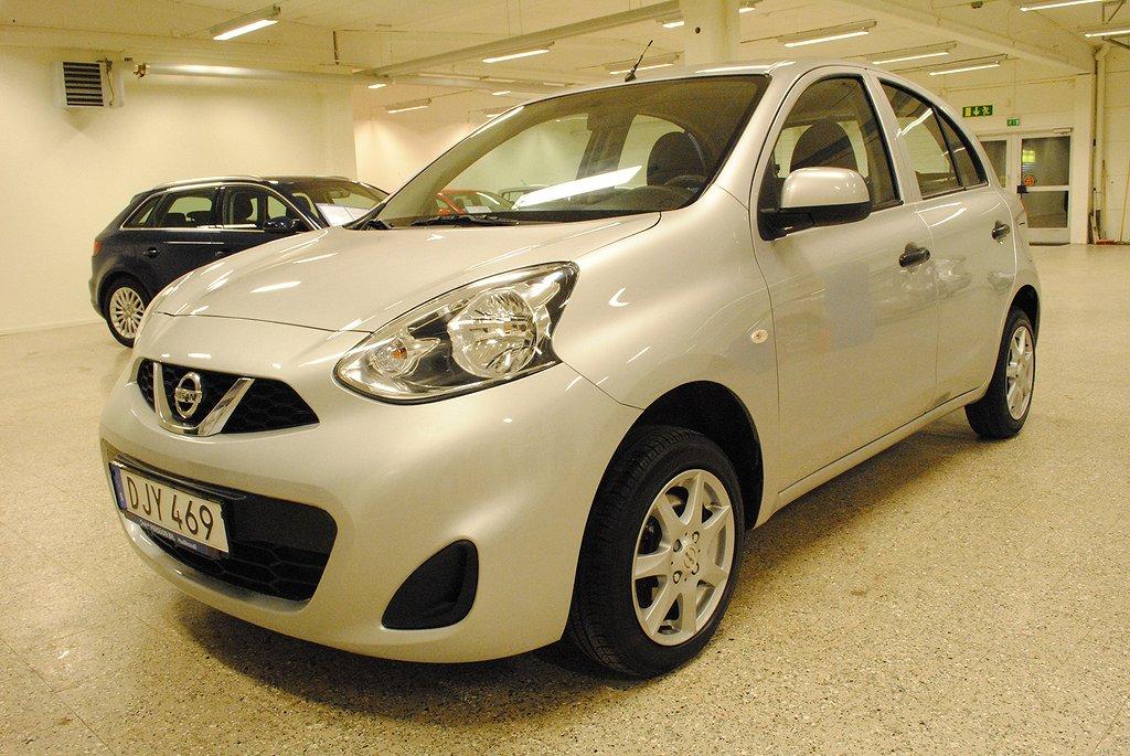 Nissan Micra 1.2 80hk 5d Skatt 448 kr/år