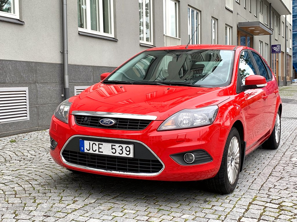 Ford Focus Halvkombi 1.8 Duratec Flexifuel 125hk