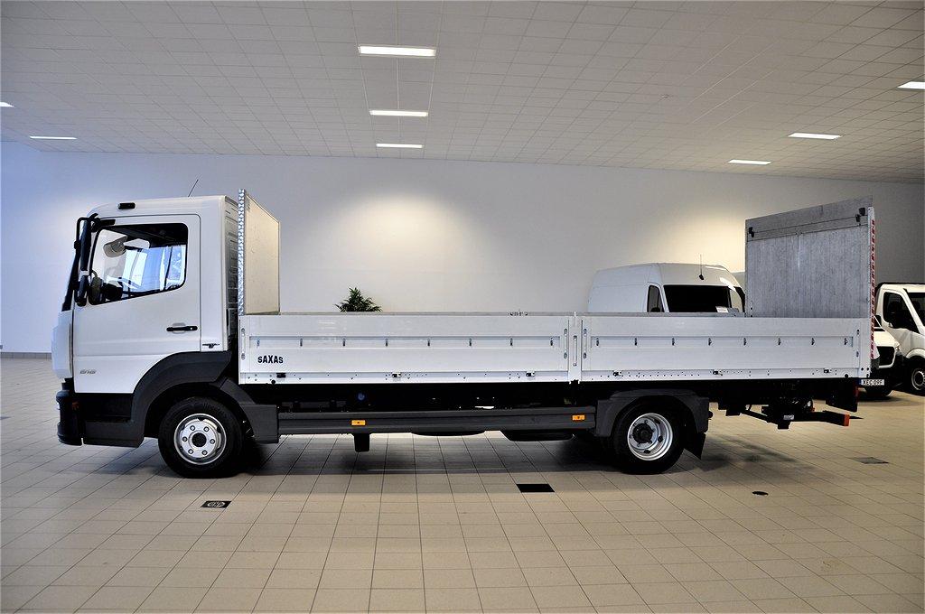Mercedes-Benz Atego 818 Euro 6 Flakbil + lyft