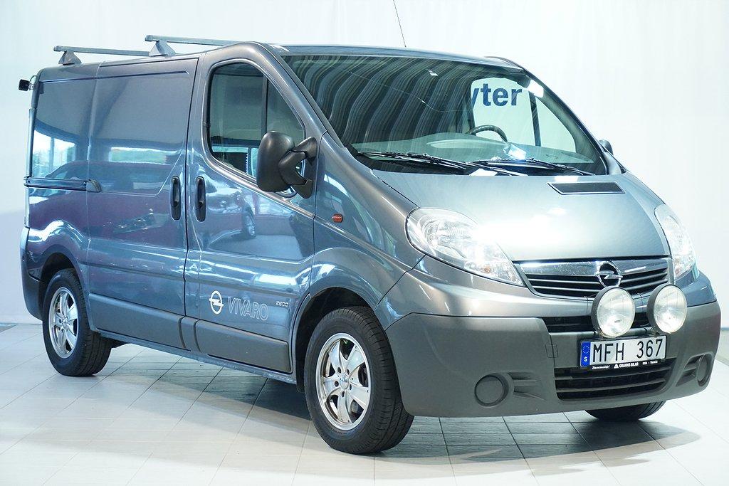 Opel Vivaro Skåp L1H1 2.0 Diesel 114 hk